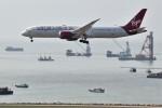 こじゆきさんが、香港国際空港で撮影したヴァージン・アトランティック航空 787-9の航空フォト(写真)
