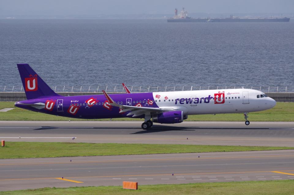 yabyanさんの香港エクスプレス Airbus A321 (B-LEJ) 航空フォト