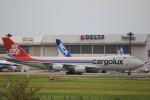 msrwさんが、成田国際空港で撮影したカーゴルクス 747-8R7F/SCDの航空フォト(写真)