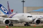 msrwさんが、成田国際空港で撮影したタイ国際航空 A350-941XWBの航空フォト(写真)
