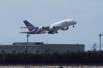 わんだーさんが、中部国際空港で撮影したタイ国際航空 A380-841の航空フォト(写真)