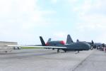 わいどあさんが、横田基地で撮影したアメリカ空軍 RQ-4B-40 Global Hawkの航空フォト(写真)