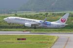 PASSENGERさんが、新石垣空港で撮影した日本トランスオーシャン航空 737-8Q3の航空フォト(写真)