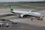 NIKEさんが、ウィーン国際空港で撮影したエバー航空 777-3SH/ERの航空フォト(写真)