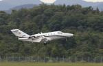 anagumaさんが、広島空港で撮影したコーナン商事 525A Citation CJ1の航空フォト(写真)