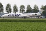 sky-spotterさんが、アムステルダム・スキポール国際空港で撮影したアドリア航空 CL-600-2D24 Regional Jet CRJ-900の航空フォト(写真)