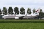 sky-spotterさんが、アムステルダム・スキポール国際空港で撮影したロイヤル・エア・モロッコ 737-8B6の航空フォト(写真)