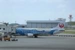 double_licenceさんが、那覇空港で撮影した日本トランスオーシャン航空 737-4Q3の航空フォト(写真)