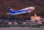 門ミフさんが、福岡空港で撮影したANAウイングス 737-5L9の航空フォト(写真)