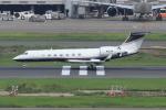キイロイトリさんが、羽田空港で撮影した3M G-V Gulfstream Vの航空フォト(写真)