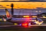 Cygnus00さんが、新千歳空港で撮影したJALエクスプレス 737-846の航空フォト(写真)