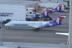ITM58さんが、ダニエル・K・イノウエ国際空港で撮影したハワイアン航空 717-22Aの航空フォト(写真)