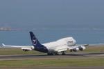 ゆなりあさんが、中部国際空港で撮影したルフトハンザドイツ航空 747-430の航空フォト(写真)
