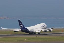 ゆなりあさんが、中部国際空港で撮影したルフトハンザドイツ航空 747-430の航空フォト(飛行機 写真・画像)