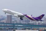akinarin1989さんが、福岡空港で撮影したタイ国際航空 A330-343Xの航空フォト(写真)