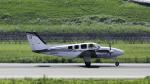 coolinsjpさんが、高松空港で撮影した岡山航空 G58 Baronの航空フォト(写真)