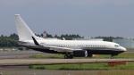 raichanさんが、成田国際空港で撮影したTAG エイビエーション・アジア 737-7JR BBJの航空フォト(写真)