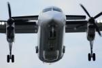 デルタおA330さんが、横田基地で撮影したアメリカ企業所有 DHC-8-315B Dash 8の航空フォト(写真)