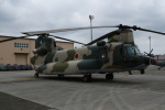シュウさんが、横田基地で撮影した航空自衛隊 CH-47J/LRの航空フォト(写真)