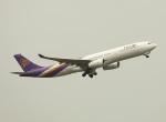 garrettさんが、香港国際空港で撮影したタイ国際航空 A330-343Xの航空フォト(写真)