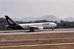 LEVEL789さんが、広島空港で撮影したマレーヴ・ハンガリー航空 767-27G/ERの航空フォト(写真)