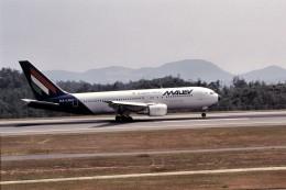 LEVEL789さんが、広島空港で撮影したマレーヴ・ハンガリー航空 767-27G/ERの航空フォト(飛行機 写真・画像)