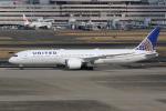 MA~RUさんが、羽田空港で撮影したユナイテッド航空 787-9の航空フォト(写真)