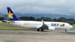 誘喜さんが、鹿児島空港で撮影したスカイマーク 737-81Dの航空フォト(写真)
