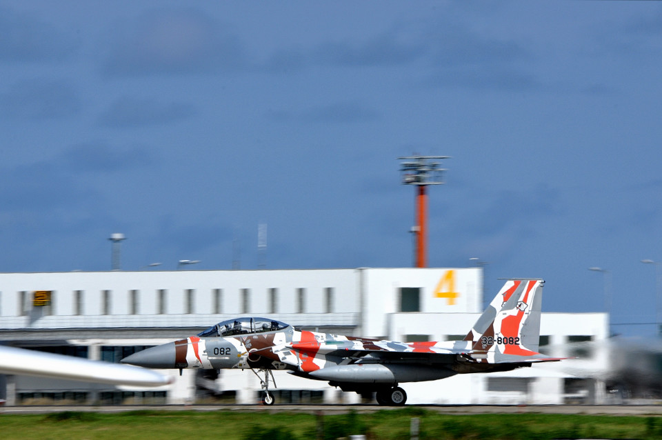 NALUさんの航空自衛隊 Mitsubishi F-15DJ Eagle (32-8082) 航空フォト