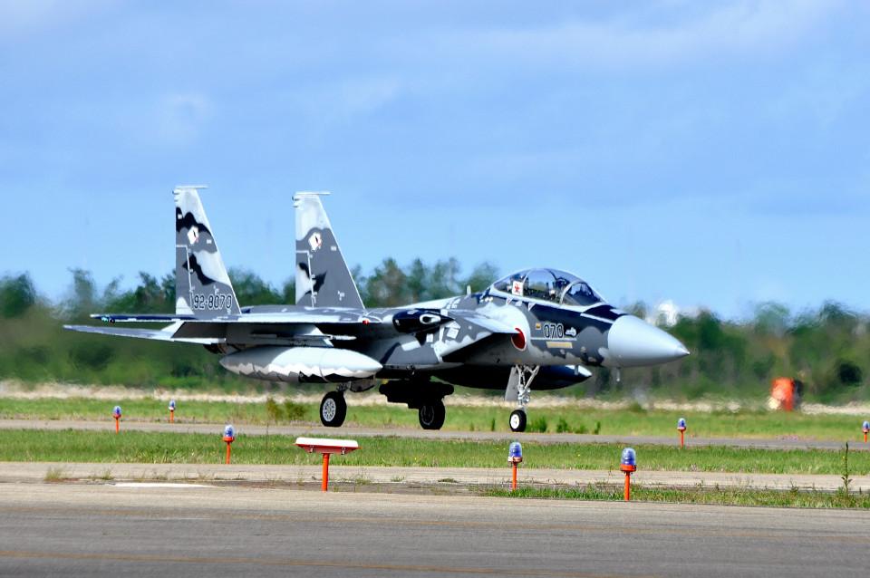NALUさんの航空自衛隊 Mitsubishi F-15DJ Eagle (92-8070) 航空フォト