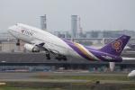 anyongさんが、羽田空港で撮影したタイ国際航空 747-4D7の航空フォト(写真)