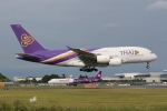 anyongさんが、成田国際空港で撮影したタイ国際航空 A380-841の航空フォト(写真)