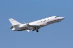 yabyanさんが、中部国際空港で撮影したPrivate Owner Falcon 2000LXの航空フォト(飛行機 写真・画像)