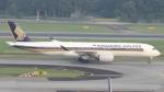 誘喜さんが、シンガポール・チャンギ国際空港で撮影したシンガポール航空 A350-941XWBの航空フォト(写真)