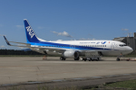 西風さんが、大館能代空港で撮影した全日空 737-8ALの航空フォト(写真)