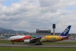 Meggyさんが、伊丹空港で撮影した全日空 777-281/ERの航空フォト(写真)