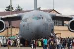 たーぼーさんが、横田基地で撮影したアメリカ空軍 C-17A Globemaster IIIの航空フォト(写真)