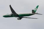akinarin1989さんが、福岡空港で撮影したエバー航空 777-35E/ERの航空フォト(写真)