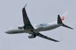 akinarin1989さんが、福岡空港で撮影した日本トランスオーシャン航空 737-8Q3の航空フォト(写真)