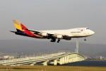 T.Sazenさんが、関西国際空港で撮影したアシアナ航空 747-446F/SCDの航空フォト(写真)