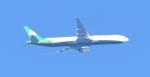 Dreamliner_NRT51さんが、成田国際空港で撮影したエバー航空 777-300 (simulator)の航空フォト(写真)