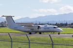 ファントム無礼さんが、横田基地で撮影したアメリカ企業所有 DHC-8-315B Dash 8の航空フォト(写真)