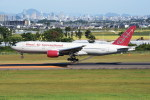 kumagorouさんが、仙台空港で撮影したオムニエアインターナショナル 777-2U8/ERの航空フォト(飛行機 写真・画像)