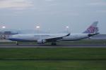はなおさんが、高松空港で撮影したチャイナエアライン A330-302の航空フォト(写真)