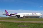 セブンさんが、新千歳空港で撮影したタイ国際航空 777-3D7の航空フォト(写真)
