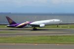 hikaruphotographさんが、中部国際空港で撮影したタイ国際航空 777-2D7の航空フォト(写真)