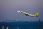 カヤノユウイチさんが、羽田空港で撮影したソラシド エア 737-81Dの航空フォト(飛行機 写真・画像)