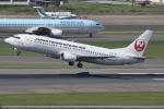 mototripさんが、福岡空港で撮影した日本トランスオーシャン航空 737-446の航空フォト(写真)