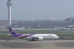 ぷぅぷぅまるさんが、羽田空港で撮影したタイ国際航空 A350-941XWBの航空フォト(写真)