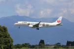 チャリチャリさんが、鹿児島空港で撮影したジェイ・エア ERJ-190-100(ERJ-190STD)の航空フォト(写真)